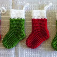 Miniature Christmas Stockings