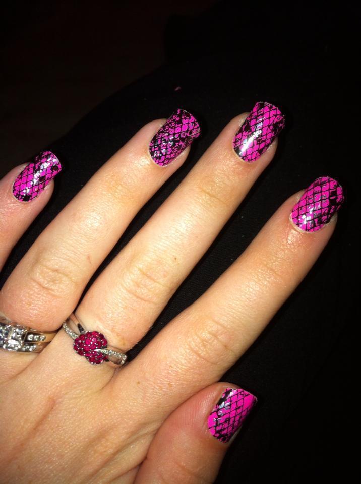 Diamond A Dozen Nails · Patterned Nail Art · Beauty And