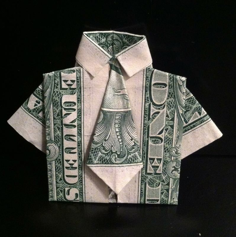 money origami 183 a piece of origami clothing 183 art