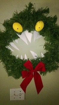 Nightmare Before Christmas Monster Wreath A Floral Wreath
