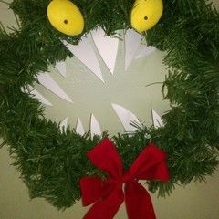 Nightmare Before Christmas Monster Wreath