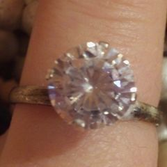 D.I.Y  Diamond Ring