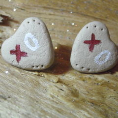 Xo Christmas Cookie Earrings!