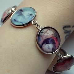 Cabochon Photo Bracelet