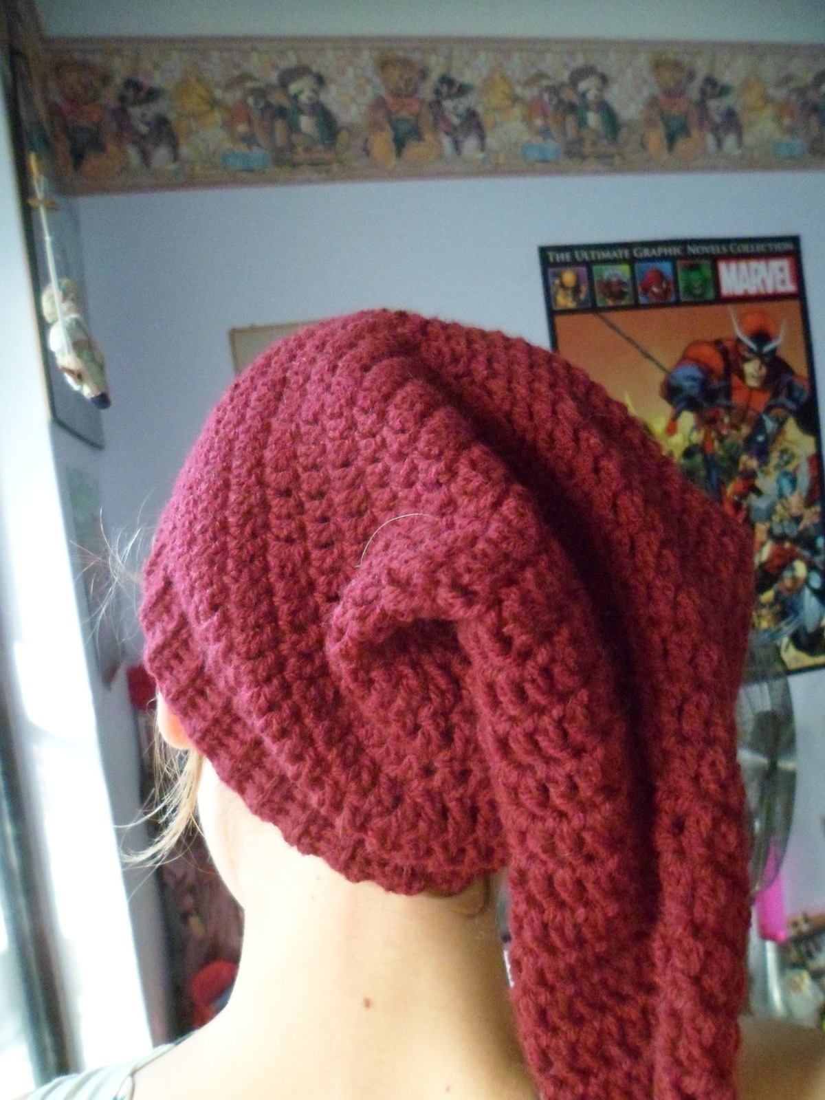 Long Pointy Elfish Beanie 183 How To Make A Novelty Hat