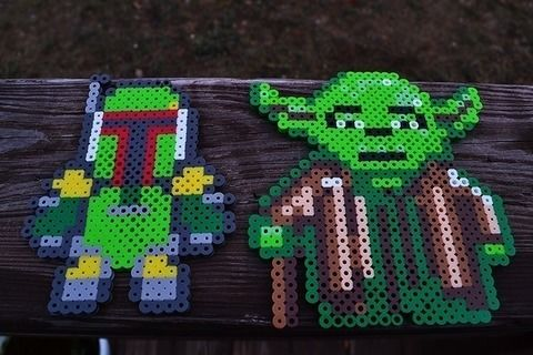BFFs we are. .  Make a beaded character in under 120 minutes using perler beads and perler beads. Inspired by star wars. Creation posted by Risa.Hanae (JapZilla). Difficulty: Easy. Cost: Cheap.