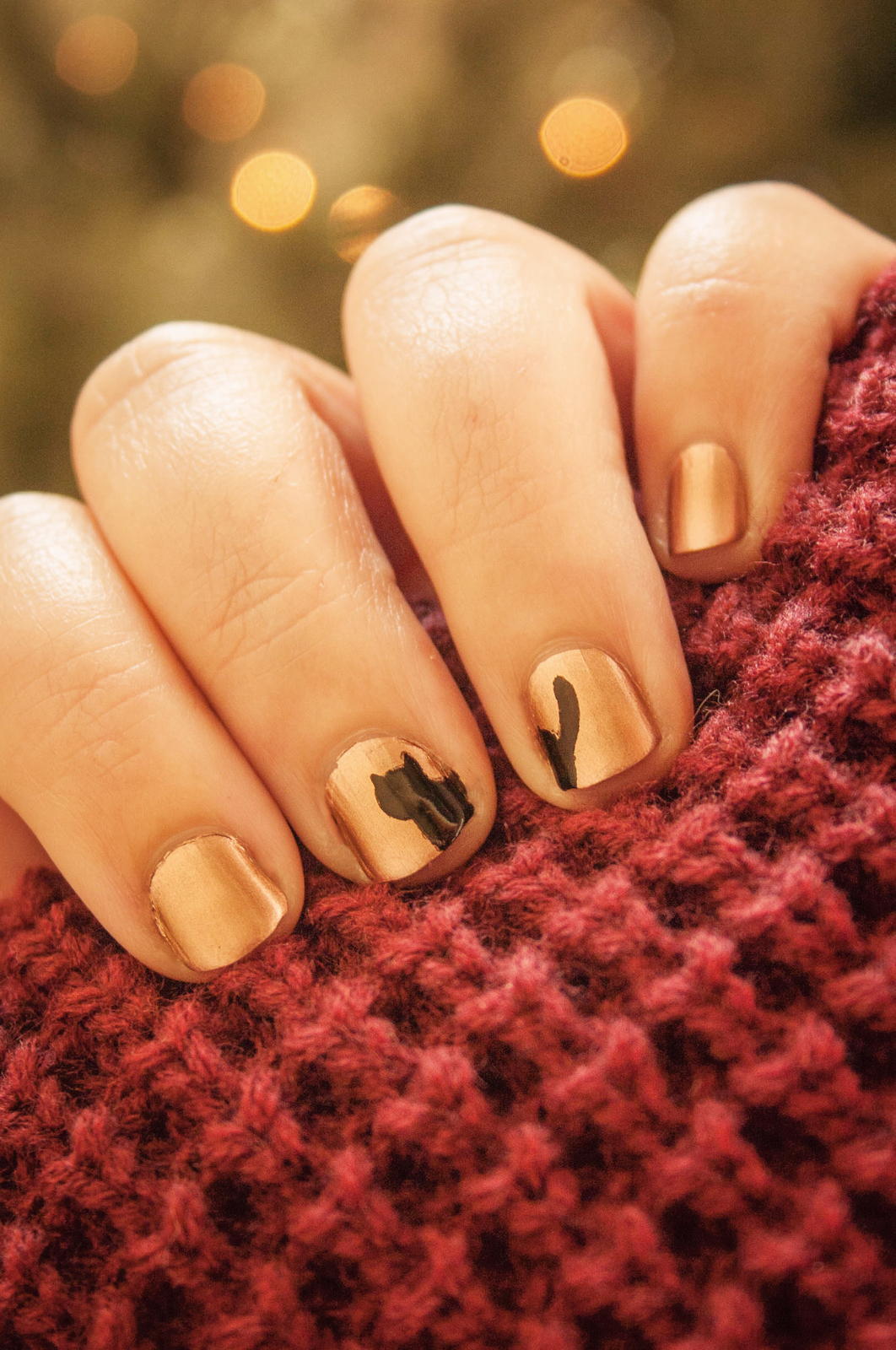 Cat Nails · How To Paint An Animal Nail · Beauty, Nail