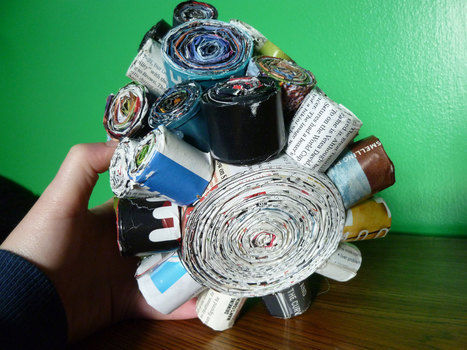 .  Make a recycled bowl by decorating Version posted by J. Pario. Difficulty: Easy. Cost: Absolutley free.