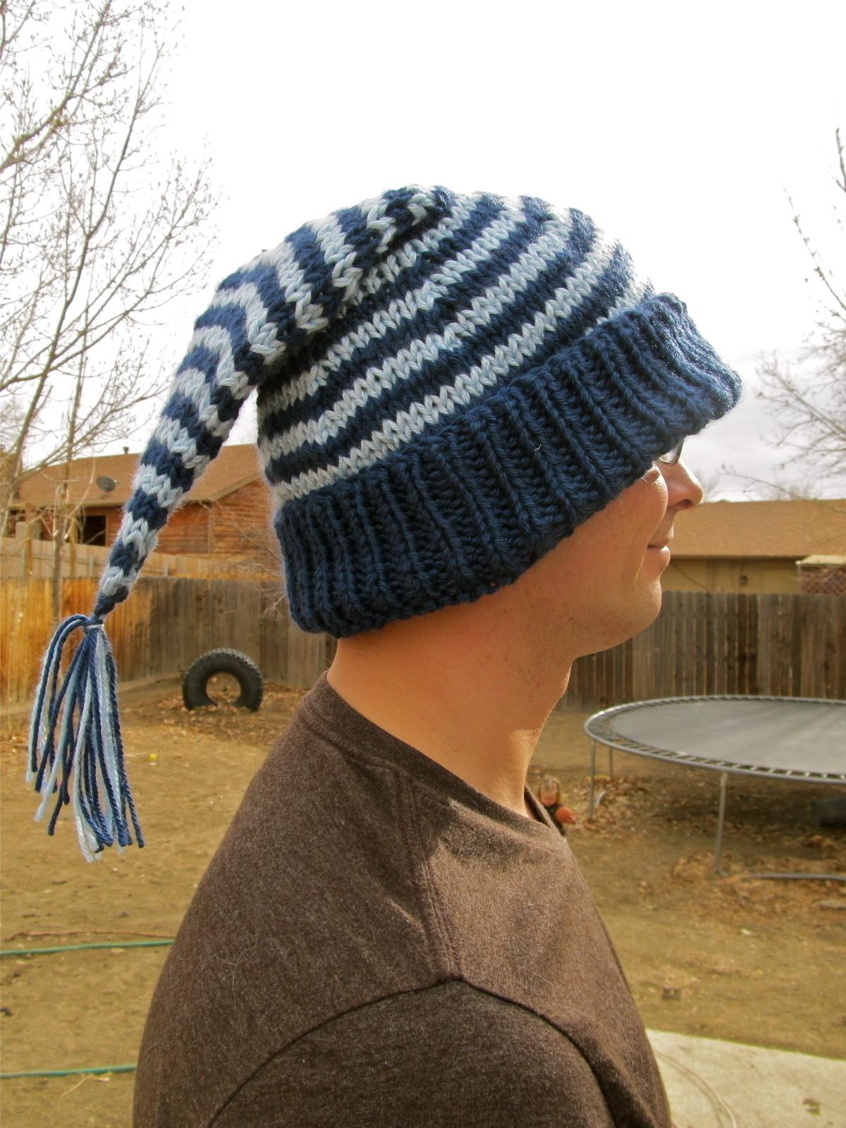Striped Quot Sleeping Cap Quot Winter Hat 183 A Novelty Hat