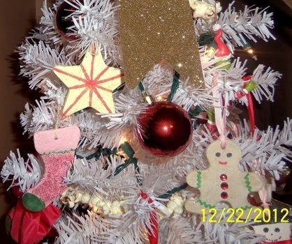 Because this is just more fun! .  Free tutorial with pictures on how to make a Christmas decoration in under 60 minutes using water, salt, and food coloring. Inspired by christmas. How To posted by Amocacushi. Difficulty: Easy. Cost: Cheap. Steps: 8