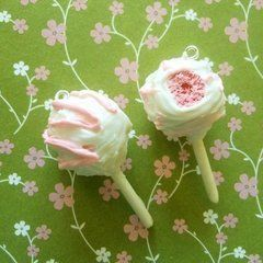 Polymer Clay Cake Pop Charms