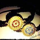 Handmade Bracelet With Swarovski Crystals