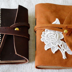 Leather & Lace Notebooks