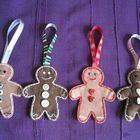 Christmas Gingerbread Men Hanging Tree Decorations