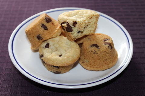 There's nothing like a mookie! .  Bake a chocolate chip muffin in under 60 minutes by baking with cookie dough and muffin tin. Inspired by chocolate chip. Creation posted by live2create. Difficulty: Easy. Cost: 3/5.