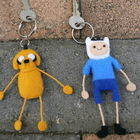 Adventure Time Keyrings
