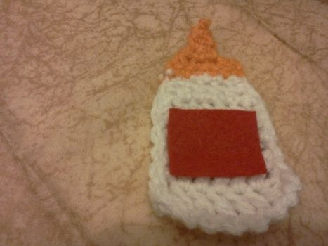 Crochet, Christmas ornaments, crochet ornaments .  Make a Christmas decoration in under 60 minutes by crocheting with yarn. Inspired by christmas and kawaii. Creation posted by Mochi Mochi. Difficulty: Easy. Cost: No cost.