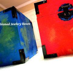 Diy Cushioned Jewlery Boxes