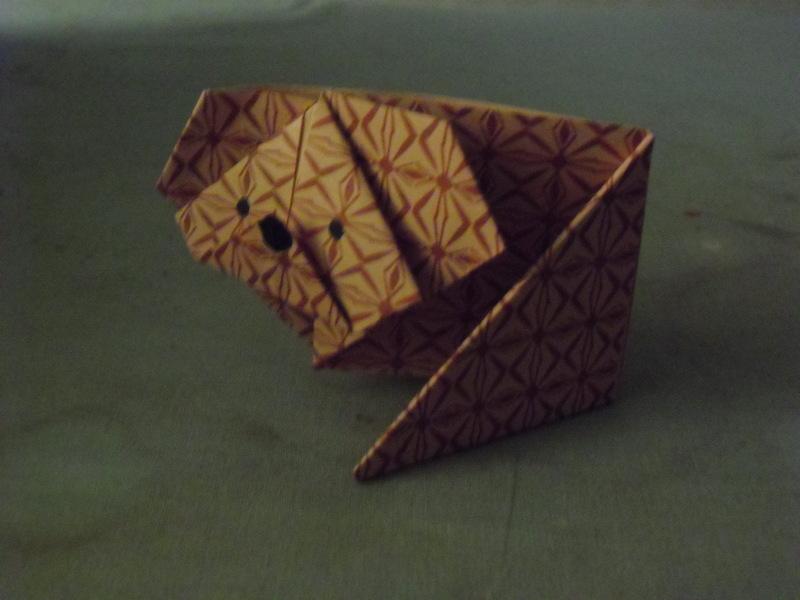 origami koala  u00b7 an origami animal  u00b7 papercraft  paper