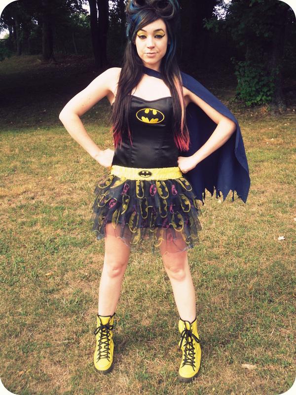 Batman Inspired Makeup 183 How To Create A Yellow Eye