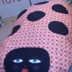Giant Squishy Spotty Ladyslug Pillow