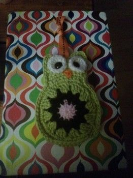 So your housekey doesnt scratch your phone .  Make a fabric animal charm in under 60 minutes by needleworking and crocheting with ribbon, safety eyes, and dk yarn. Inspired by kawaii and owls. Creation posted by Amanda M. Difficulty: Easy. Cost: Absolutley free.