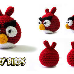 Amigurumi Angry Birds Star Wars : How to make plushies & friends ? Craft tutorials and ...