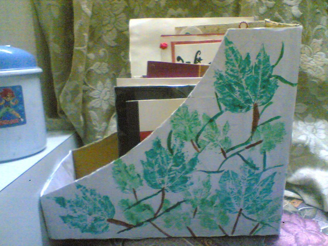 Handmade magazine holder a box art decorating and - Home decor subscription box ...