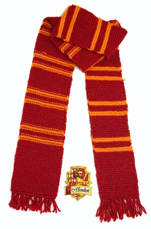 Gryffindor Scarf ? A Stripy Scarf ? Needlework, Crochet, and Knitting on Cut ...