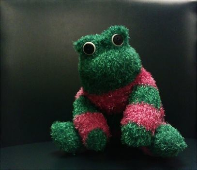 Microwaveable Sock Frog .  Make a reptile plushie in under 60 minutes by needleworking and sewing with fabric, buttons, and stuffing. Inspired by crafts, frogs, and frogs. Creation posted by MJ. Difficulty: Easy. Cost: Absolutley free.