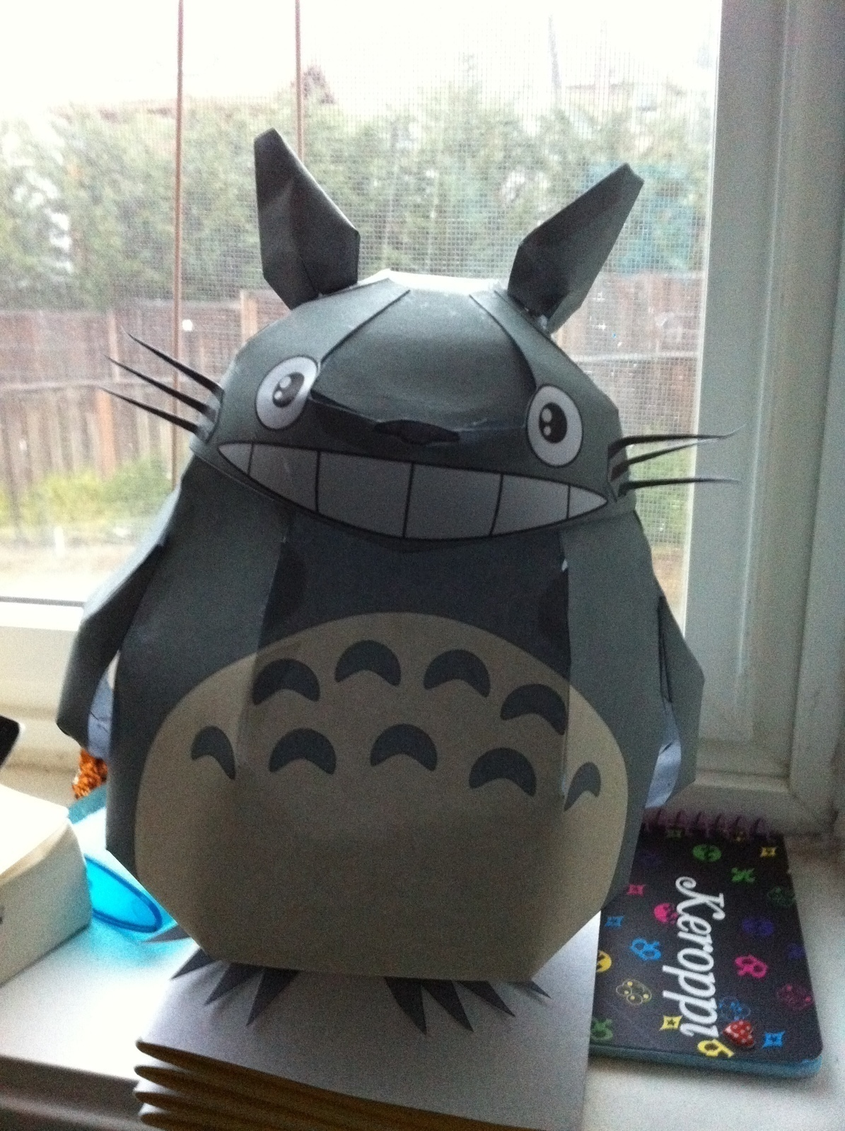 totoro paper craft  u00b7 an origami animal  u00b7 papercraft  paper