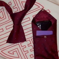 Tie Pod Cosy 183 How To Recycle A Neck Tie Pouch 183 Sewing On