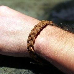 Braided Leather Bracelet Diy