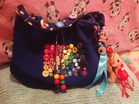 .  Make an embellished tote in under 60 minutes Inspired by costumes & cosplay and kawaii. Version posted by LollyLabbit. Difficulty: 3/5. Cost: Cheap.