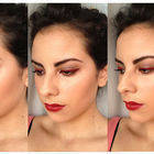Romantic Red Makeup Look