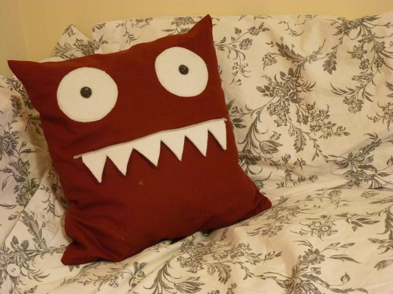 Monster Cushion 183 An Applique Cushion 183 Needlework And