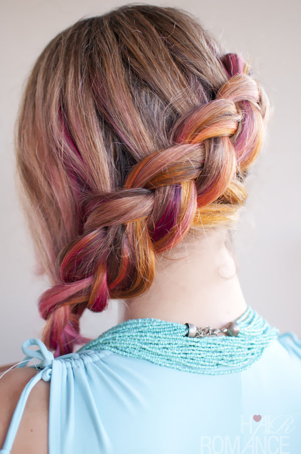 Side Braid Hairstyle Tutorial How To Style A Side Braid Hair Styling On Cut Out Keep