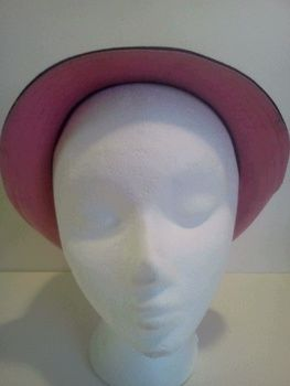 Sewing, hat, upcycled  .  Make a fedora hat in under 120 minutes by sewing with fabric, sewing machine, and hat. Inspired by gifts, costumes & cosplay, and vintage & retro. Creation posted by Mochi Mochi. Difficulty: 4/5. Cost: No cost.