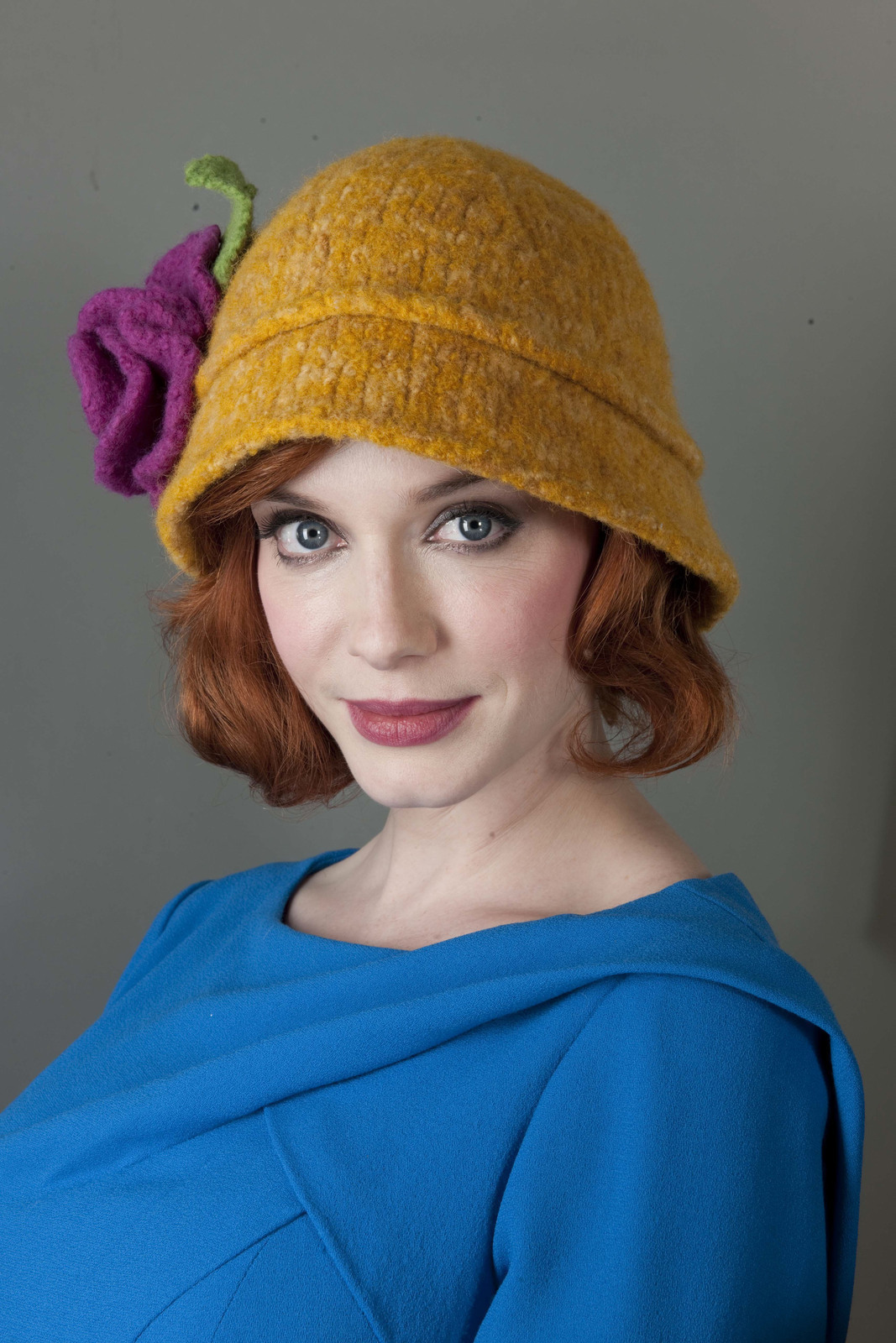 Cloche Hat Pattern Knitting : Cloche Hat ? Extract from Heart Felt Knits by Tamara Mello ? How To Make A Cl...