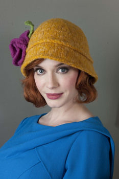 Heart Felt Knits .  Free tutorial with pictures on how to make a cloche hat in under 180 minutes by needleworking and felting with yarn and circular knitting needles. How To posted by Abrams. Difficulty: 3/5. Cost: 3/5. Steps: 5