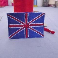 Zig Zag Union Jack Patch