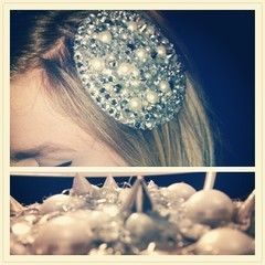 Spike And Pearl Fascinator Hat