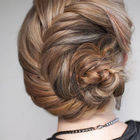 Hairstyle How To   French Fishtail Braid Chignon