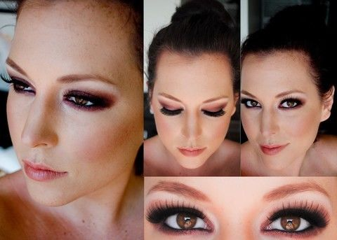 Create a burgundy burlesque look .  Free tutorial with pictures on how to create a smokey eye in under 15 minutes by applying makeup, applying makeup, applying makeup, and applying makeup with eyeshadow. Inspired by gothic, vintage & retro, and mac cosmetics. How To posted by Erin A. Difficulty: Easy. Cost: Cheap. Steps: 3