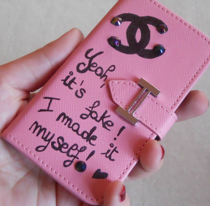 Diy Sad Chanel Dripping Chanel Iphone Case 183 How To Make A Phone Case 183 Drawing On Cut Out Keep