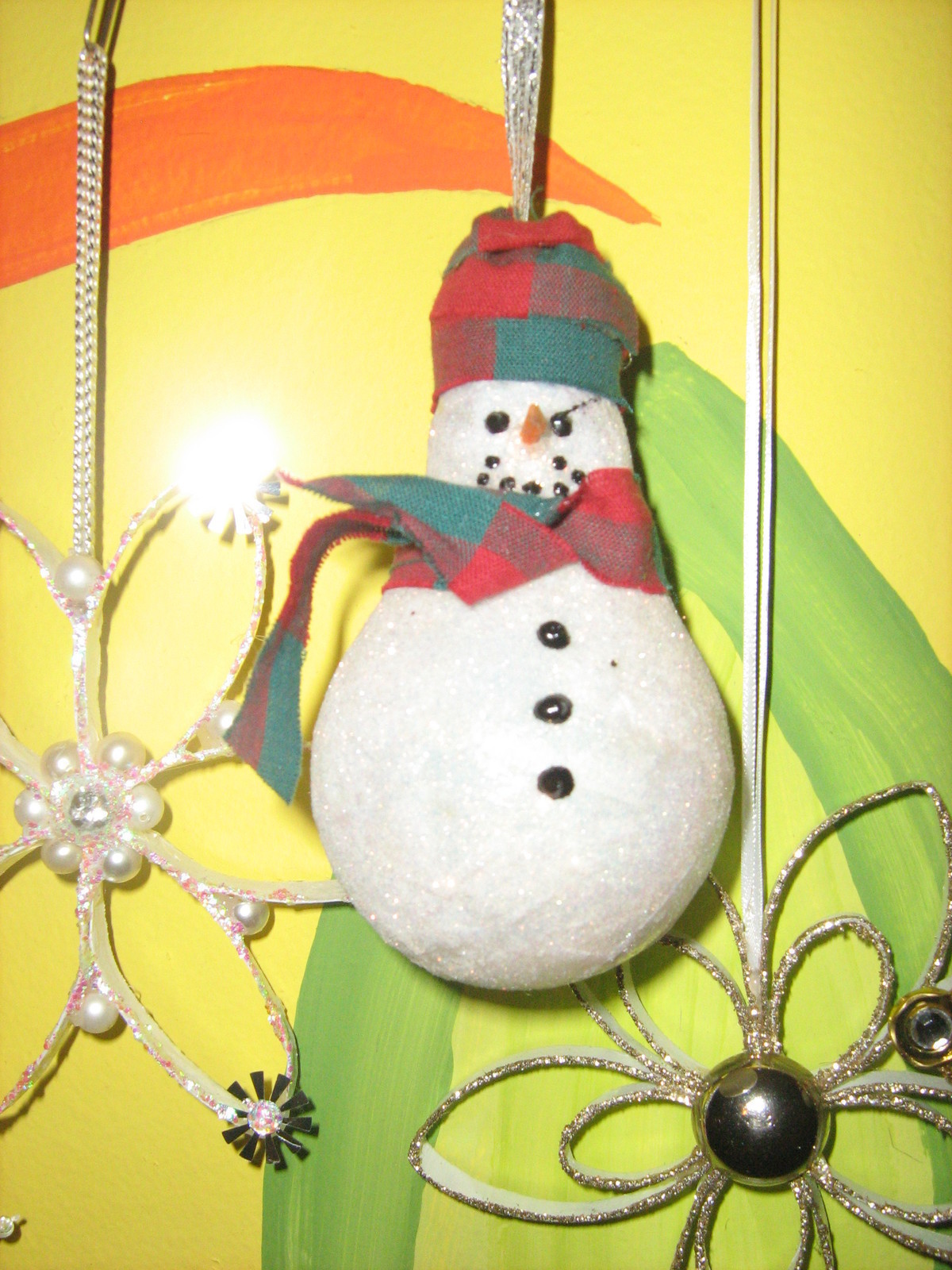 Snowman From Used Light Bulbs 183 A Snowman Ornament 183 Art Decorating And Embellishing On Cut