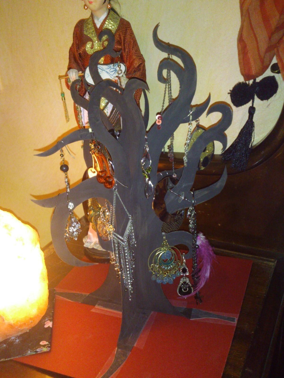 Alice In Wonderland Jewelry Tree 183 A Jewelry Tree 183 Version By Coffeeeri
