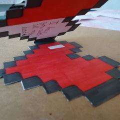 8 Bits Heart Card