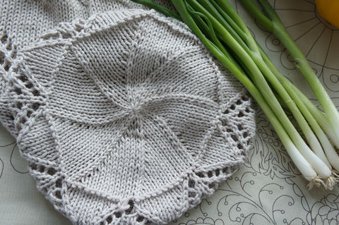 Live it up with easy lace! .  Free tutorial with pictures on how to make a knit or crochet tote in 5 steps by knitting with yarn, yarn, and crochet hook. How To posted by Tanis G. Difficulty: Easy. Cost: Cheap.