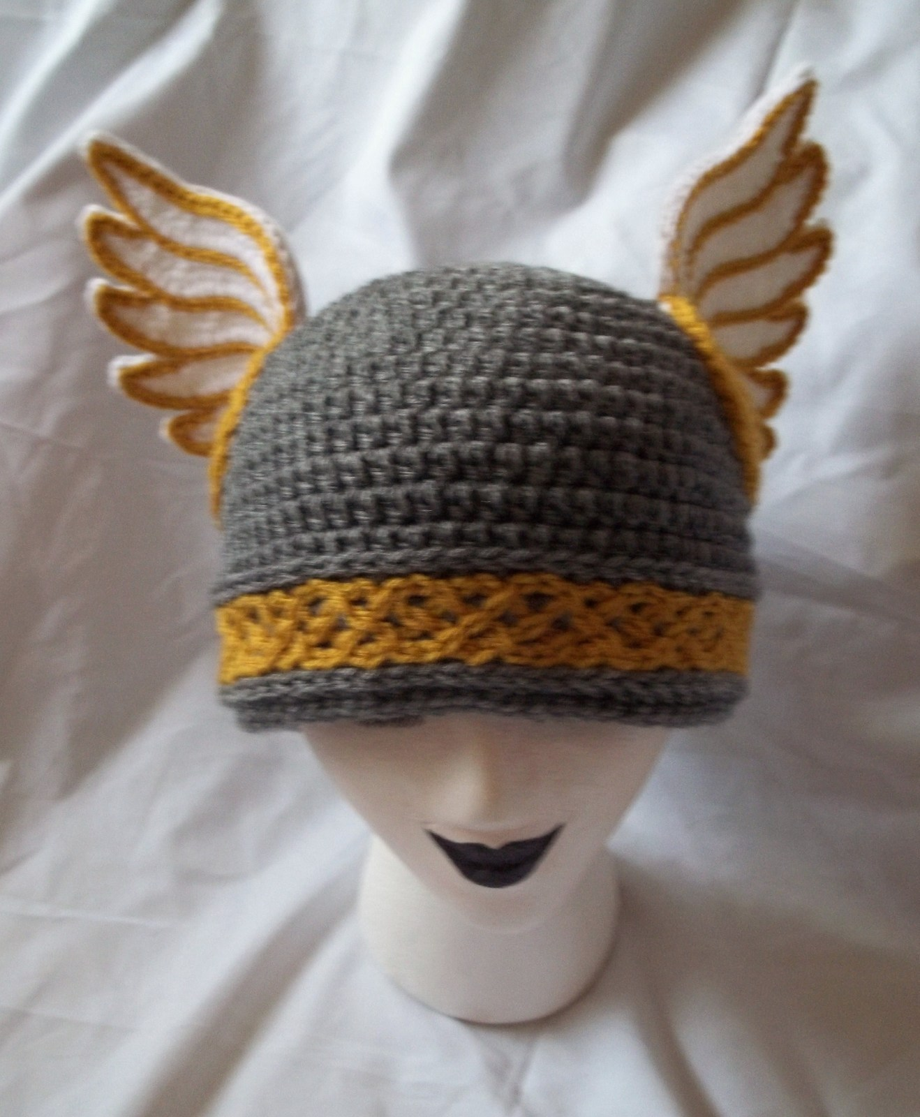 3dfd68a4 Valkyrie Beanie · A Novelty Hat · Crochet on Cut Out + Keep ...